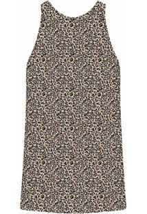 Vestido Laço Estampa Jaguar - Lez A Lez