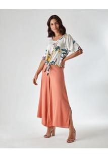 Calça Zinzane Pernas Assimétricas - Feminina - Feminino