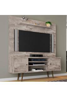Estante Para Tv 2 Portas Tivoli Vanilla Rustico - Móveis Bechara