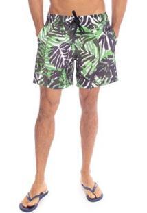 Shorts Aleatory Generation Masculino - Masculino-Verde