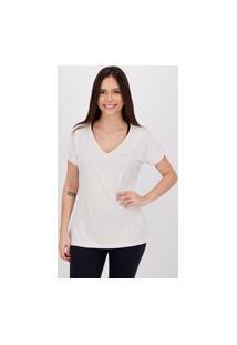 Camiseta Fila Dots Feminina Branca