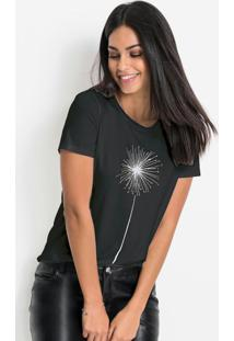 Blusa T-Shirt Básica Preta