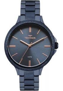 Relógio Feminino Technos Trend 2035Mme/4A - Unissex-Preto