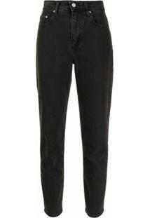 Nobody Denim Calça Jeans Cropped Frankie - Preto