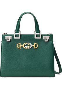 Gucci Bolsa Tote Gucci Zumi Pequena - Verde
