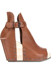 Trippen Wedge Ankle Boots - Marrom