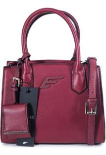 Bolsa Mini Bag Ellus Feminina - Feminino-Vermelho