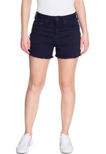 Shorts Color Five Pockets - Azul Marinho - 34