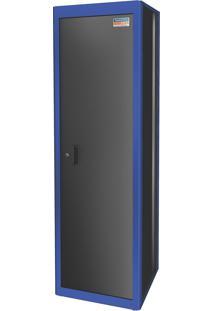 Armário De Canto Para Ferramentas 1 Porta Azul Com Módulo 44955212 Tramontina