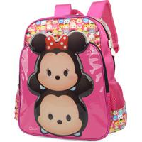 7c68827dc Mochila Escolar Disney Tsum Tsum Mickey & Minnie
