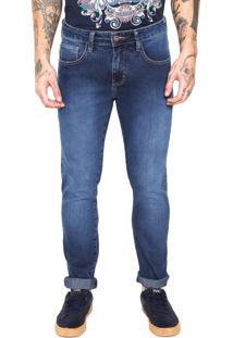 Calça Jeans Triton Slim Gilson Azul