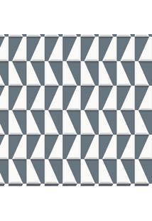 Papel De Parede Geométrico I Cinza (1000X52)