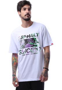 Camiseta Asphalt Roots Tee Masculina - Masculino