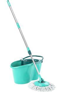 Mop Giratório Odyssey Mop9782-Flash Limp - Verde Agua
