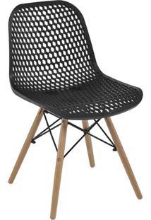 Cadeira Eloisa Preta Rivatti - Preto - Dafiti