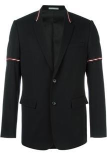 Dior Homme Blazer Com Listras - Preto