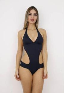 Maiô Pink Tricot Body Engana Mamãe Frente Única Feminino - Feminino