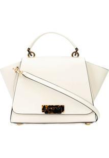 Zac Zac Posen Bolsa Transversal Eartha Medium - Branco