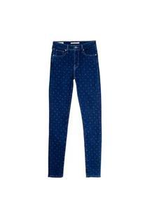 Calça Jeans Levis 721 High Rise Skinny - 90379 Azul