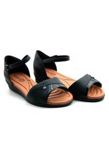 Sandalia Comfort Flex Anabela - 2070405