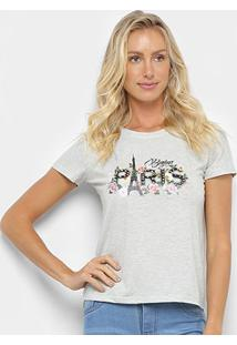 Camiseta Sofia Fashion Paris Feminina - Feminino