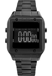 Relógio Fashion Fit Euro Eug2510Ac/4P Preto