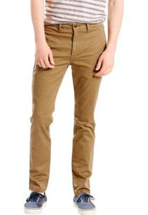 Calça Jeans Levis Chino 511 Slim - Masculino-Cáqui