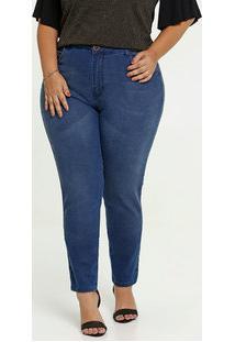 Calça Jeans Cigarrete Feminina Plus Size Marisa