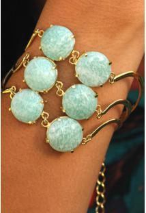 Bracelete Multipedras Amazonita Twik