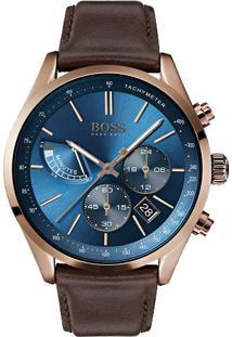b363582206a ... Relógio Hugo Boss Masculino Couro Marrom - 1513604