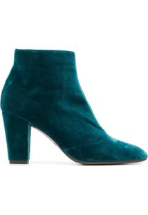 Chie Mihara Hibo Heeled Ankle Boots - Green