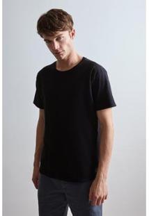 Camiseta T Dupla Face Babacu Reserva Masculina - Masculino-Preto