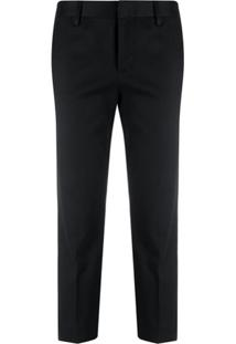 Dsquared2 Calça Slim Cropped - Preto