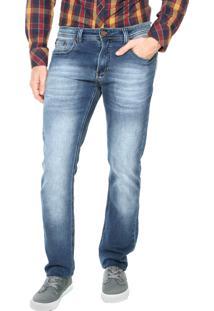 Calça Jeans Redley Super Estonada Azul