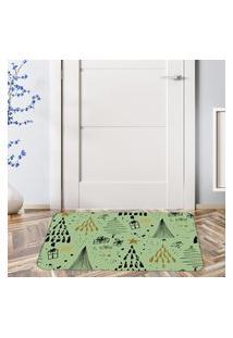 Tapete De Natal Para Porta Árvores Geométricas Único