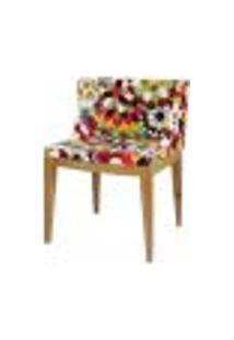 Cadeira Christie Senhorita Mademoiselle Tecido Flor Gérbera