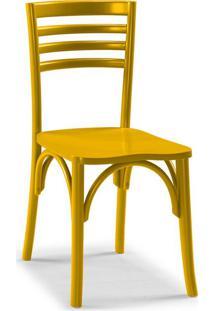 Cadeira De Jantar Samara Amarela