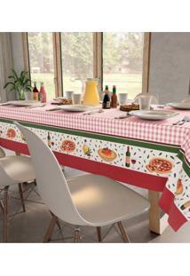 Toalha De Mesa Quadrada Jantar Italiano (140X140Cm) - Teka