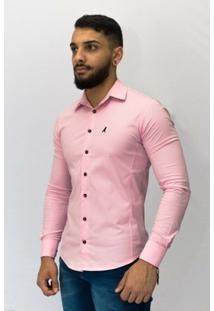 Camisa Social Horus Super Slim 2001 Masculina - Masculino