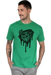 Camiseta Bleed American Shine Diamond Bandeira