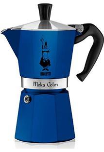 Cafeteira Italiana 6 Xícaras Moka Bialetti Azul - 27153