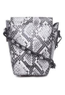 Bolsa Minibag Snake - Animal Print