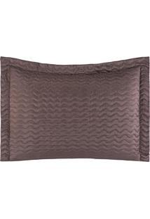 Porta Travesseiros Microfibra - Tabaco Familie Enxovais
