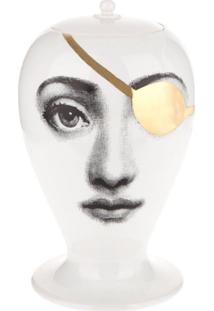 Fornasetti Vaso Patch - Branco