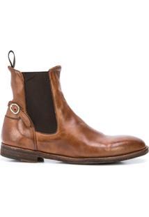 Officine Creative Ankle Boot Sandie - Marrom
