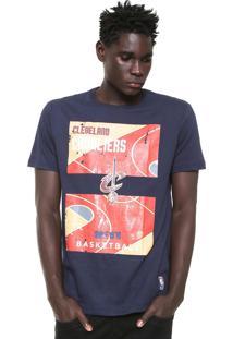 Camiseta Nba Cleveland Cavaliers Azul-Marinho