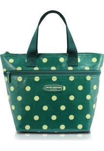 Bolsa Térmica Bolinha Jacki Design Look Verde - Tricae