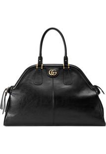 Gucci Bolsa Tote 'Re(Belle)' Grande - Preto