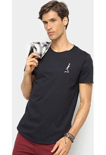Camiseta Derek Ho Caveira Masculina - Masculino-Preto