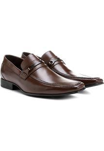 Sapato Couro Social Shoestock Ferragem - Masculino